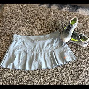 Nike Gray Skort - Size: Large